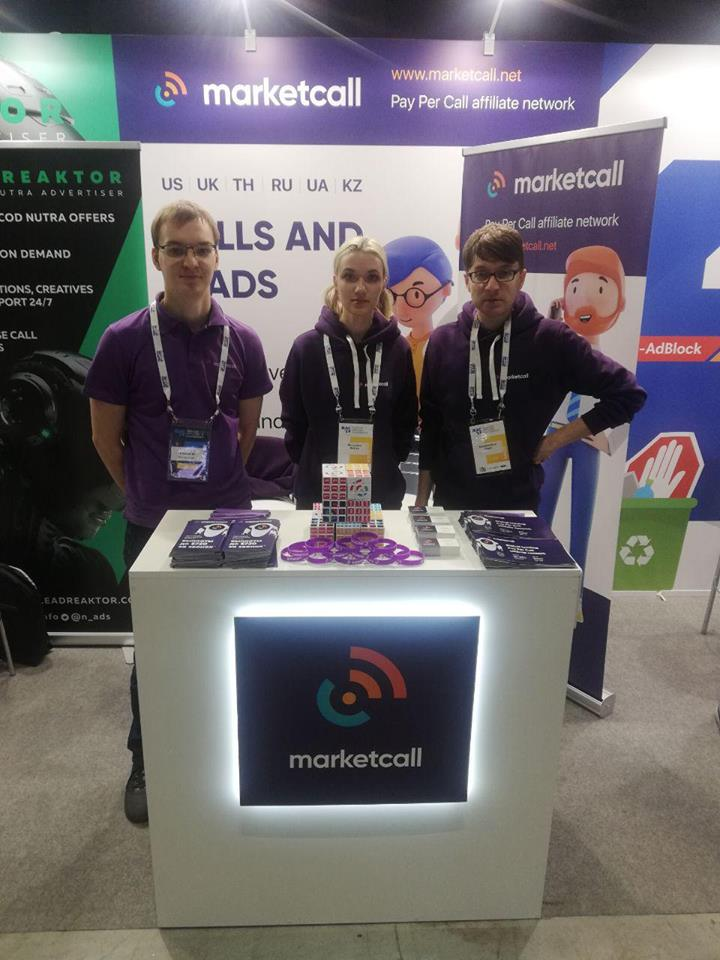 Marketcall - Moscow Affiliate Conference Participant!